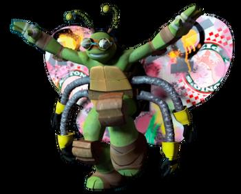 Traje de tortuga voladora 001