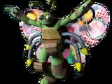 Traje de Tortu-Voladora