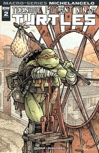 Teenage Mutant Ninja Turtles Macro Series Tmntpedia Fandom