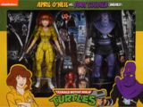 April O'Neil vs. Foot Soldier (Bashed) (2020 action figures)