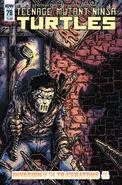 TMNT -78 Subscription Cover by Kevin Eastman