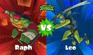 Raph vs Leo