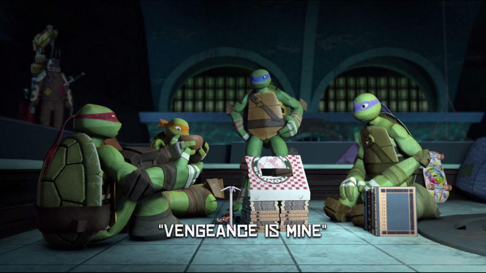 Teenage Mutant Ninja Turtles Kari serpent Action figure
