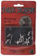 Dark Horse TMNT miniatures Shredder, Splinter, Mousers