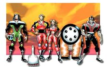 Planet Racers - chara roster