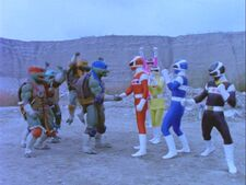 Turtles and Rangers