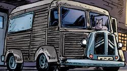 Old Hob's van 1