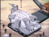 Krang's mobile fortress