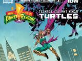 Mighty Morphin Power Rangers/Teenage Mutant Ninja Turtles issue 4