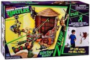 Nickelodeon-teenage-mutant-ninja-turtles-z-line-ninjas-playset-water-tower-washout-new-3