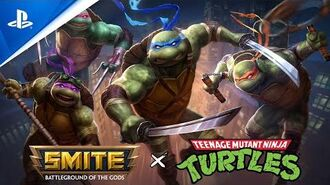 SMITE - Teenage Mutant Ninja Turtle Announcement Trailer PS4-0