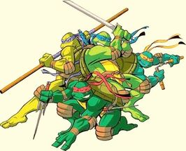 Leo,Raph,Don and Mikey 10