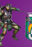 Donatello promotional drink artwork