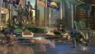 Injustice 2 trailer - leo strike