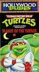 TMNT Planet of the Turtles VHS