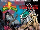 Mighty Morphin Power Rangers/Teenage Mutant Ninja Turtles issue 3