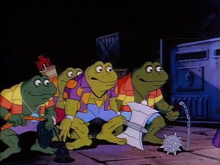 Punk Frogs 1987 Tv Series Tmntpedia Fandom Powered By Wikia