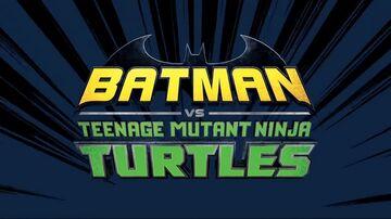 Batman vs TMNT logo