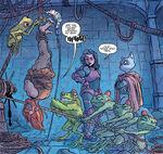 Frog tickle torture
