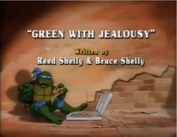 Green with Jealousy Title Card