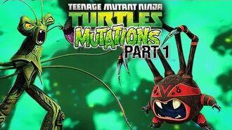 TMNT MUTATIONS Part 1 Snakeweed Mutation, Spider Bytez Mutation