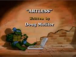 Artless Title Card