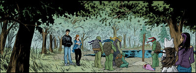 Splinter's grave (IDW)