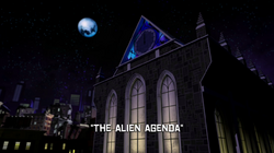 The Alien Agenda title