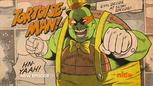 Tortoise man michelangelo
