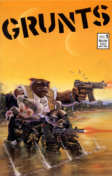 Grunts -1 cover