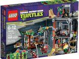 Turtle Lair Attack