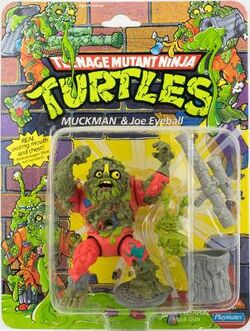 Muckman & Joe Eyeball figures