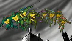 Eight TMNT unite!
