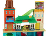 HSH Super Sewer HQ Playset with Mikey and Splinter (2014 toy)
