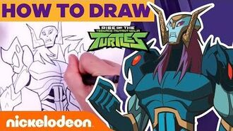How To Draw the Rise of the TMNT Villains ft. Baron Draxum, Meat Sweats, & Foot Clan! 🎨 Nick