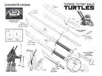 Leonardo's katana