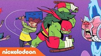 Rise of the Teenage Mutant Ninja Turtles Comics Come to Life 🍕The Finale TurtlesTuesday
