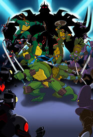 TMNT Turtles Forever by KidKalig