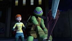 TMNT-2012-Donatello-and-April-0143