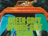 Green-Grey Sponge-Suit Sushi Turtles!