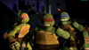 Mikey, Raph and Leo