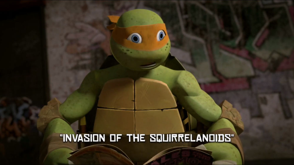 Invasion Of The Squirrelanoids Tmntpedia Fandom Powered By Wikia