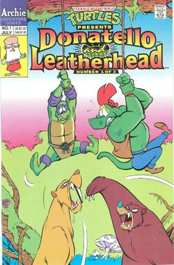 Donatello & Leatherhead issue 1