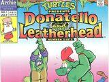 Donatello and Leatherhead