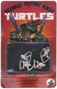 Dark Horse TMNT miniatures, blister pack packaging
