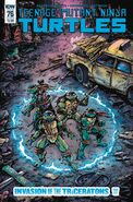 TMNT -76 Subscription Cover by Kevin Eastman
