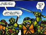 Teenage Mutant Ninja Turtles Cereal Comics