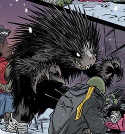IDW mutant porcupine