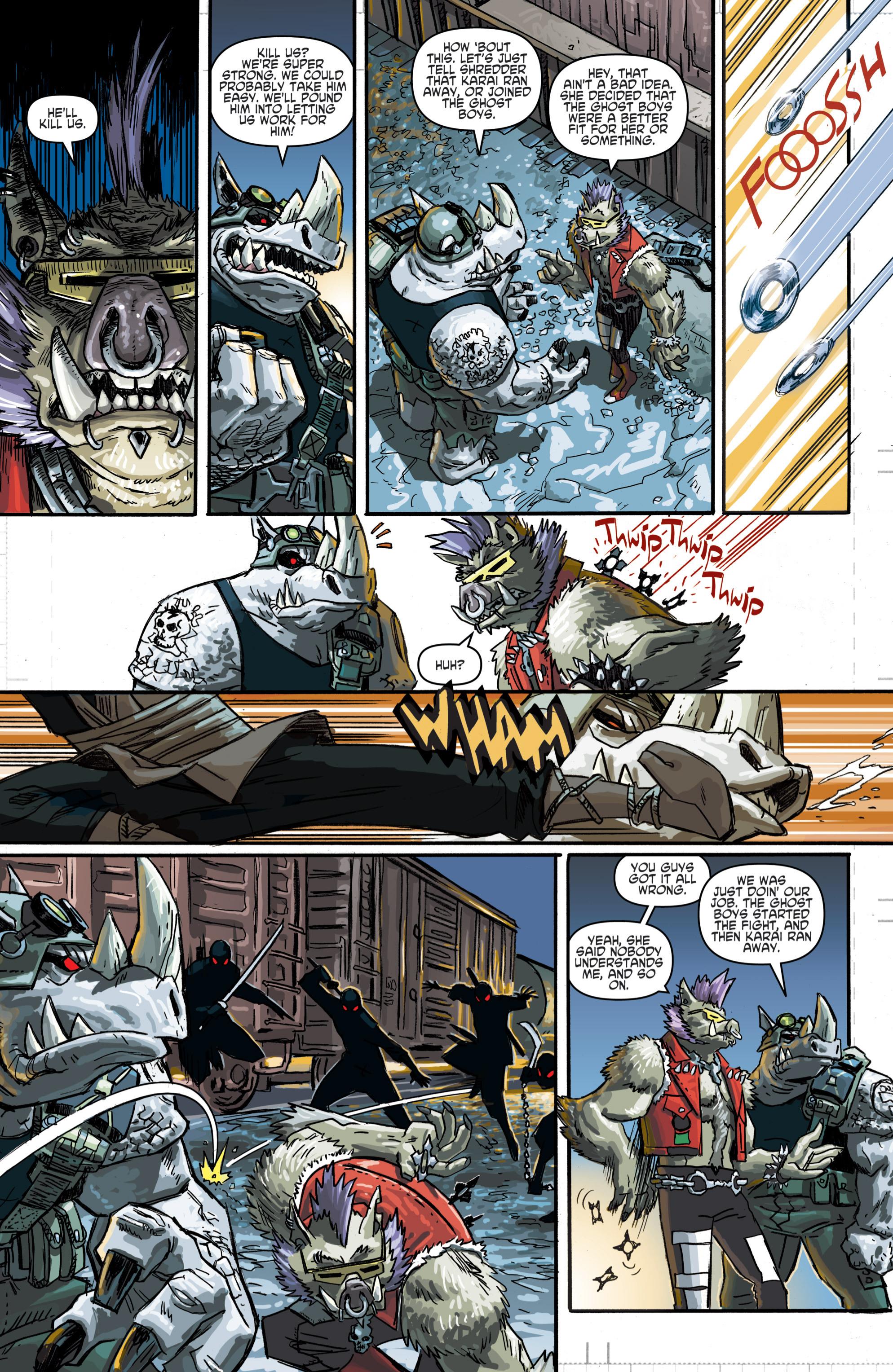image teenage mutant ninja turtles villains micro series bebop
