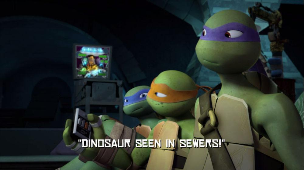 Dinosaur Seen In Sewers Tmntpedia Fandom Powered By Wikia